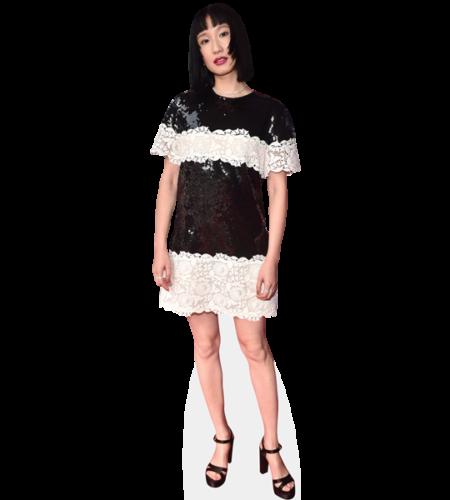 Meng'er Zhang (Black Dress)